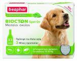 Beaphar Biocton Spot-On Αμπούλες για Μεσαίους Σκύλους