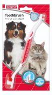 Beaphar Οδοντόβουρτσα για Σκύλους & Γάτες Όλα τα Μεγέθη