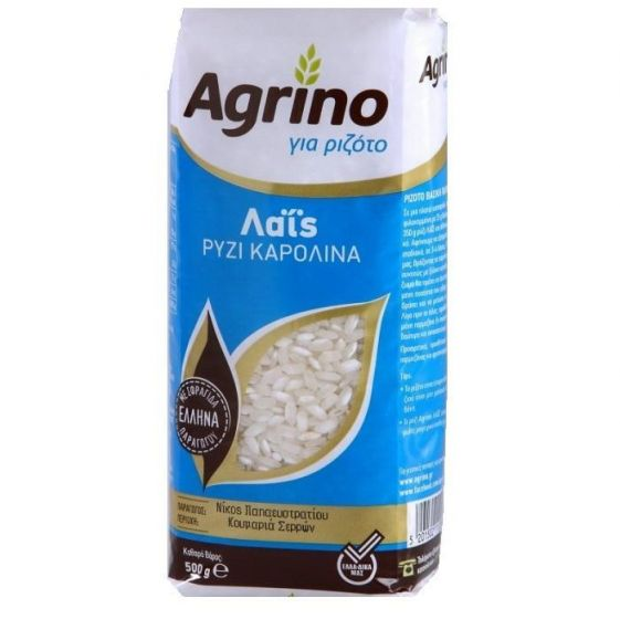Agrino Ρύζι Λαΐς Καρολίνα 500g