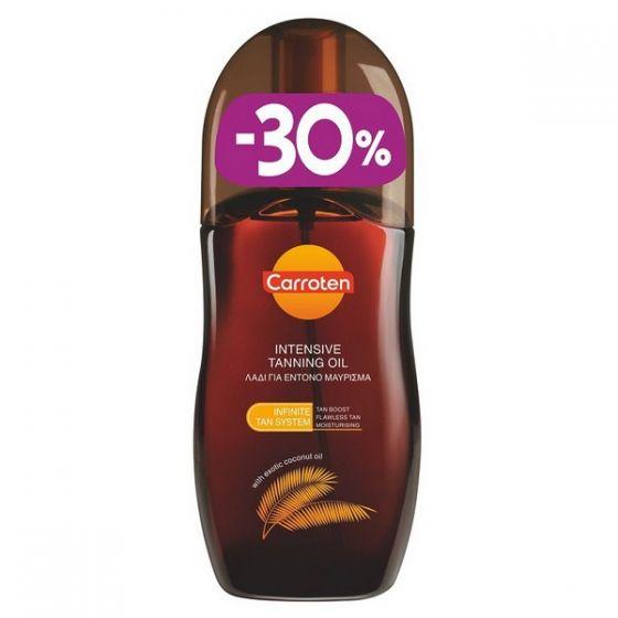Carroten Intensive Tanning Oil SPF0 125ml