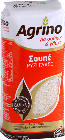 Agrino Σουπέ Ρύζι Γλασέ 500g