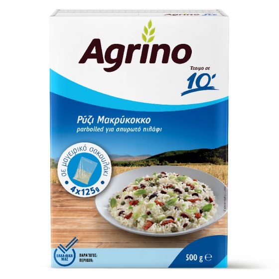 Agrino Ρύζι Μακρύκοκκο για σπυρωτό πιλάφι 500g