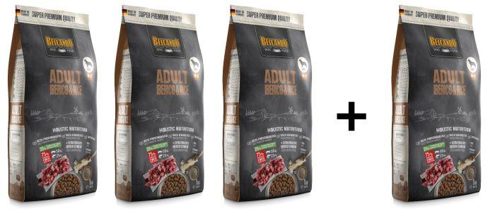 Belcando Adult Iberico & Rice Ξηρά Τροφή για Σκύλους 3Kg + 1Kg Δώρο