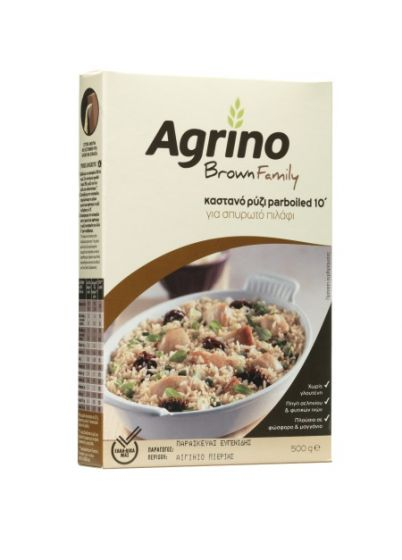 Agrino Καστανό Ρύζι Πιλάφι 500g
