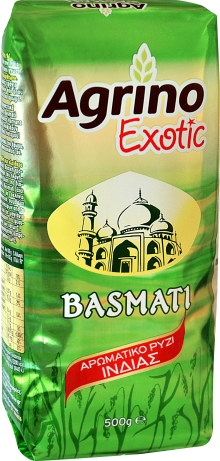 Agrino Exotic Αρωματικό Ρύζι Ινδίας 500g