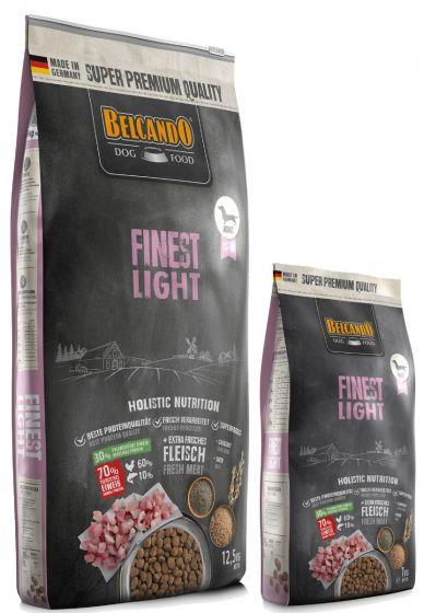 Belcando Finest Light Ξηρά Τροφή Σακί 12,5Kg + 1kg ΔΩΡΟ