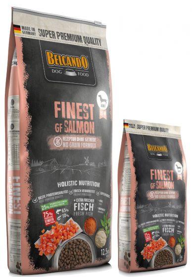 Belcando Finest Salmon Grain Free Ξηρά Τροφή 12,5Kg + 1kg ΔΩΡΟ
