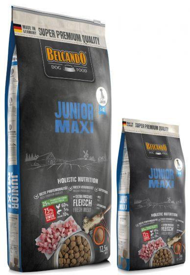 Belcando Junior Maxi Ξηρά Τροφή για Σκύλους Σακί 12,5kg + 1kg ΔΩΡΟ