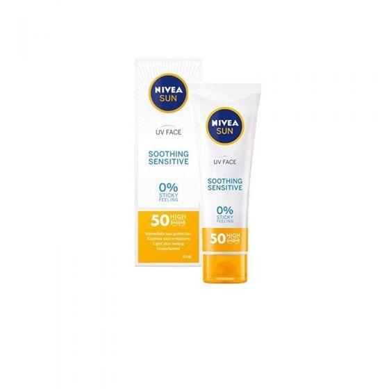 Nivea Sun Face Cream Sensitive Soothing SPF50 50ml