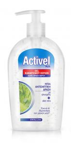 Activel Plus Gel Καθαρισμού Χεριών με ήπια αντισηπτική δράση Αντλία 500ml