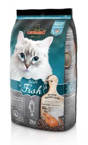 Leonardo Adult Fish Ξηρά Τροφή για Γάτες 2kg