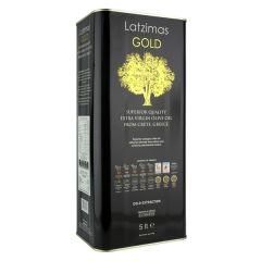 Λατζιμάς Gold Ελαιόλαδο Έξτρα Παρθένο 5L
