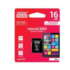 Κάρτα Μνήμης Micro Card + Adapter 16GB