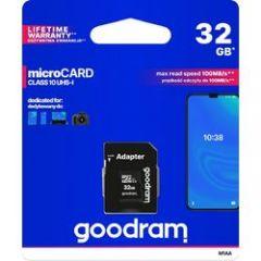 Κάρτα Μνήμης Micro Card + Adapter 32GB
