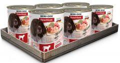 Bewi Dog Σετ 6 Κονσέρβες Βοδινό 6x800gr