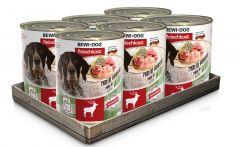 Bewi Dog Σετ 6 Κονσέρβες Ελάφι 6x800gr