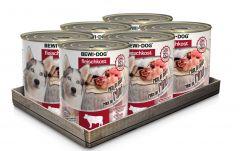 Bewi Dog Σετ 6 Κονσέρβες Μοσχάρι 6x800gr