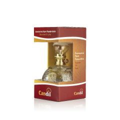 Candil Διακοσμητική Λάμπα Παραφινέλαιου Με Λουλούδια Χωρητικότητα 500ml