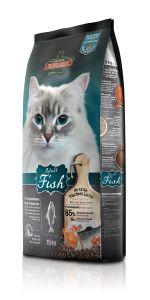Leonardo Adult Fish Ξηρά Τροφή για Γάτες Σακί 15kg