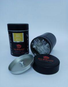 Tea Odyssey Ιθάκη Bio Χαρμάνι 4 βοτάνων Tinbox 20 πυραμίδες