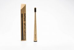 Boobam Brush Οδοντόβουρτσα Deluxe Ενηλίκων Medium Μαύρο