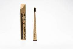 Boobam Brush Οδοντόβουρτσα Deluxe Ενηλίκων Soft Μαύρο