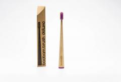 Boobam Brush Οδοντόβουρτσα Deluxe Ενηλίκων Medium Μωβ