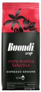 Buondi Καφές Εσπρέσο σε Κόκκους 100% Arabica 200gr