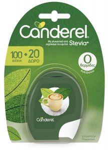 Canderel Stevia 100 Δισκία + 20 Δώρο