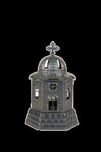 Καντήλι Λαδιού Μεταλλικό Εκκλησάκι 17,5cm
