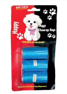 Σετ 3τεμ Ρολά Σακουλάκια Καθαριότητας για Σκύλους