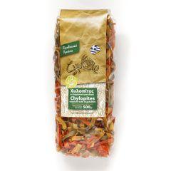 Ζυμάρ Παραδοσιακές χυλοπίτες με λαχανικά τρικολόρε 500 γρ. 100% Vegan