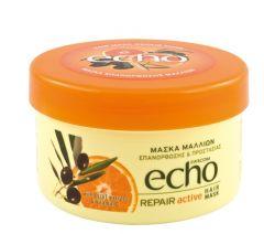 Farcom Echo Μάσκα Μαλλιών Επανόρθωσης και Προστασίας 250ml