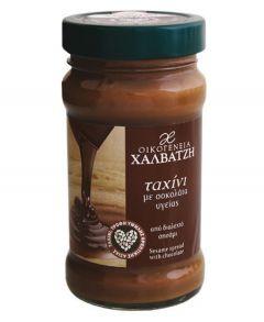 Οικογένεια Χαλβατζή Ταχίνι με Σοκολάτα Υγείας 300γρ