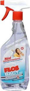Flos Bact 100 Antimicrobials Απολυμαντικό & Καθαριστικό με Αντλία 500ML