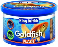 King British Goldfish Flake Τροφή για Χρυσόψαρα 28g