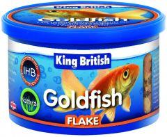 King British Goldfish Flake Τροφή για Χρυσόψαρα 12g