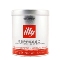 Illy Καφές Αλεσμένος Classico 125γρ