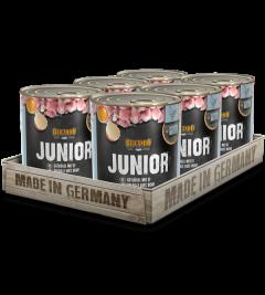 Belcando Junior Σετ 6 Κονσέρβες για Σκύλους 6x800gr