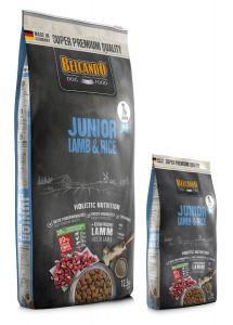 Belcando Junior Lamb & Rice Ξηρά Τροφή Σακί 12,5kg +1kg Δώρο