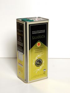 Καλαμάτα Εξαιρετικό Παρθένο Ελαιόλαδο 5Lit Μεταλλικό Δοχείο