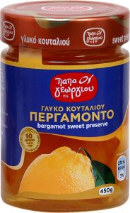 Παπαγεωργίου Γλυκό του κουταλιού Περγαμόντο 450gr