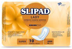 Slipad Lady Σερβιέτες Ελαφράς Ακράτειας Super 10τεμ