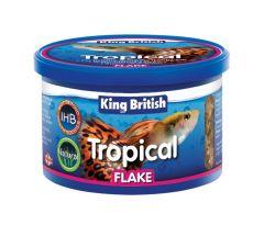 King British Tropical Flake Τροφή Τροπικών Ψαριών 28g